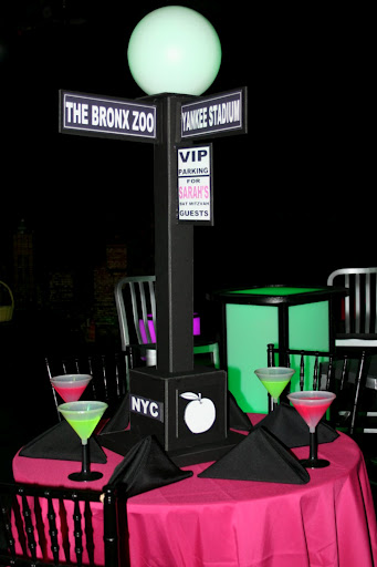 Bar Bat Mitzvahs Centerpieces And DecorJudaicaNYC