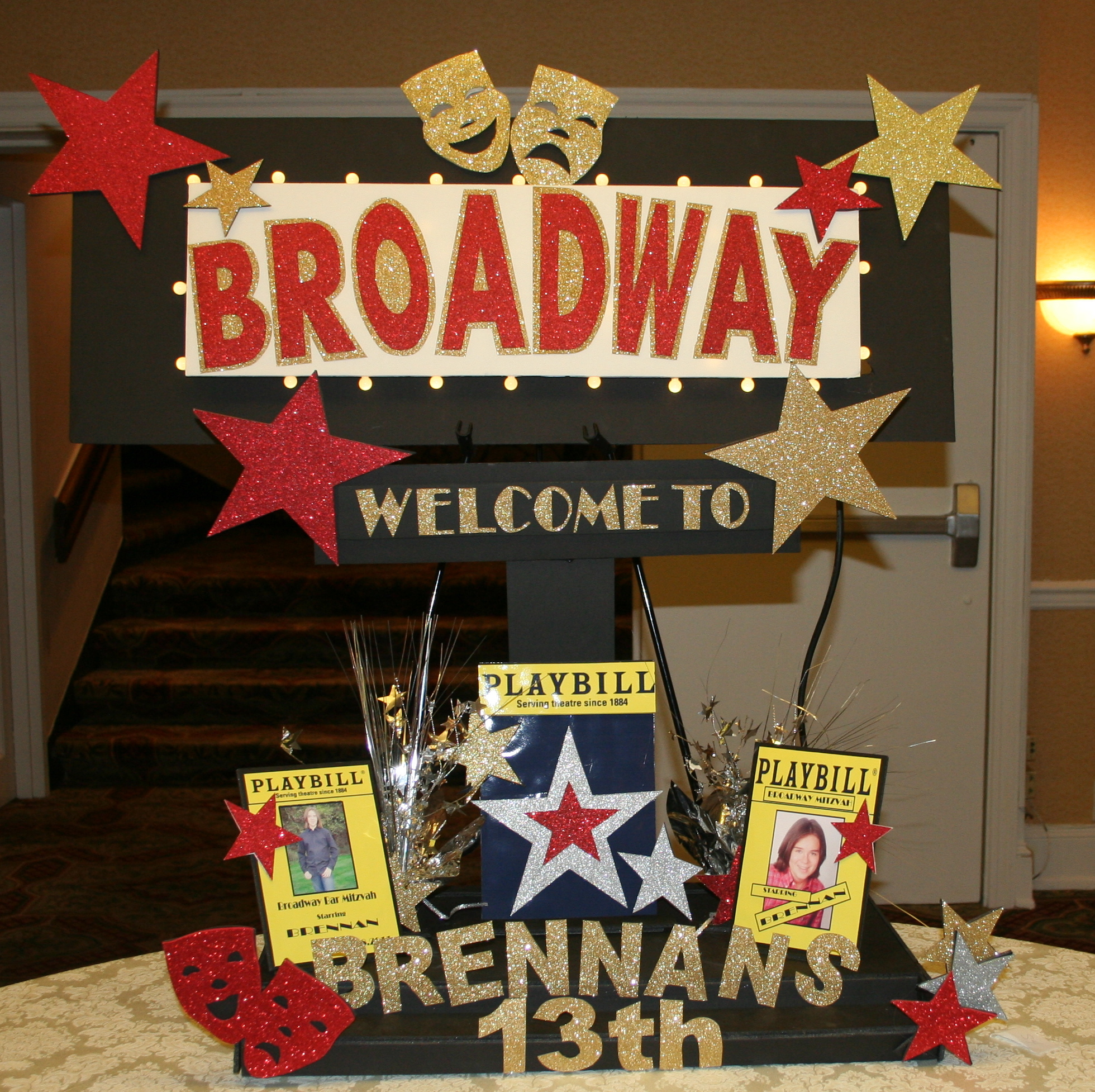Broadway Themed Party Ideas